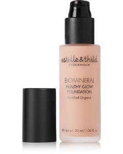 Estelle & thild stockholm biomineral healthy glow foundation light coverage 115 30ml