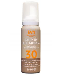 EVY technology daily UV face mousse SPF30 high protection 75ml
