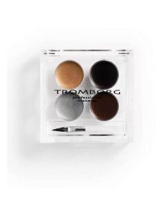 Tromborg eyegrease black-brown gold-silver