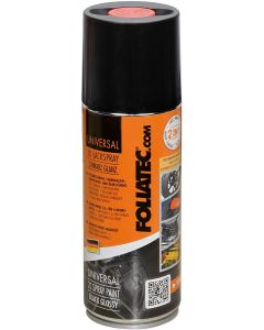 Foliatec universal 2K lackspray schwarz glanz 400ml