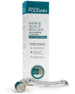 Foligain hair & scalp roller 540 titanium needles 0.25mm