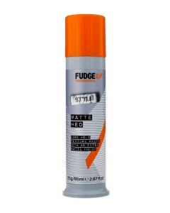 Fudge professional style matte hed firm hold texture paste with an extra matte finish 85ml