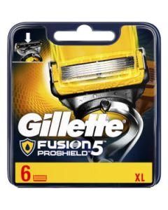 Gillette fusion proshield 5 XL 5 blade + 1 trimmer