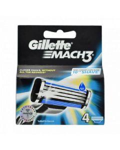Gillette mach3 4 blade