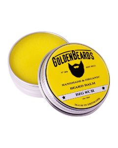 Goldenbeards handmade & organic beard balm big sur 60ml
