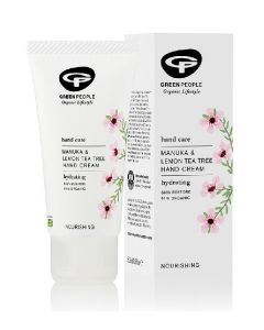 Green people hand care manuka & lemon tea tree hand cream 50ml