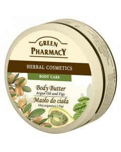 Green pharmacy herbal cosmetics body care body butter argan oil and figs 200ml