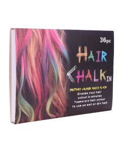 Hair chalk change your hair colour in minutes 36 stk.