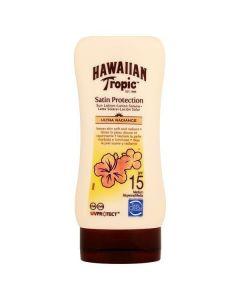 Hawaiian tropic satin protection sun lotion ultra radiance SPF15 medium 180ml