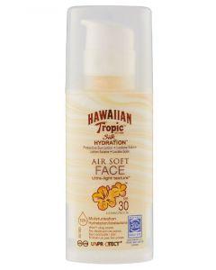 Hawaiian tropic silk hydration air soft face SPF30 high 50ml