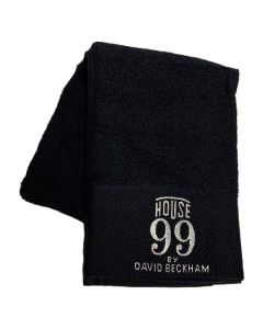 House 99 by David Beckham håndklæde 50x100cm sort