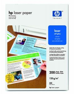 HP Professional Laser Papir 120 soft gloss