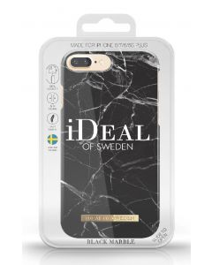 ideal of sweden black marble made for iphone 7 plus