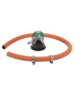 IGT jumbo low pressure regulator model A235is med slange og tilbehør