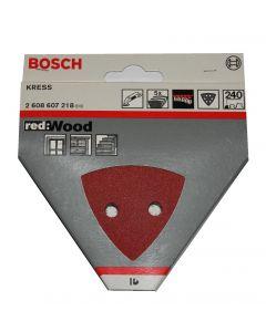 Bosch deltaslibepapir korn 240 redwood