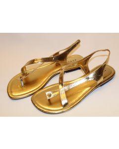 Stylesnob sandaler Lotte gold str 41