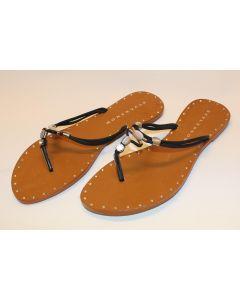 Stylesnob sandaler India Toe sort str 41