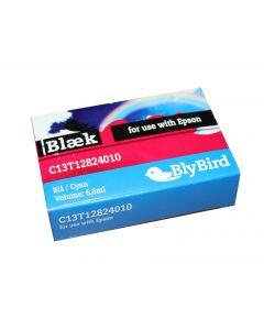 BlyBird Compatible Epson T1282 blå