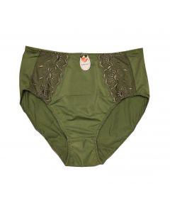 Elbrina trusse Midi grøn str. XL