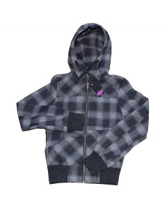Red Label jakke Skill check hood sortternet str XS