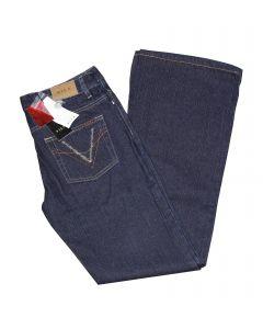 Vila Jeans Rinse Wash i Blå Str. 33/34