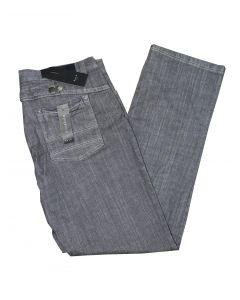 Park Jeans Style: 67131 Straight Cut Low Waist i Grå Str. 38/34