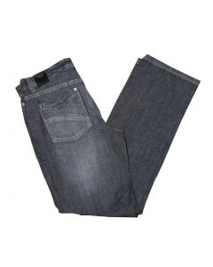 Park Jeans Style: 67126 Straight Cut Low Waist i Blå Str. 33/34