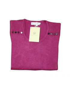 Micha Bluse i Fuchsia Str. Large