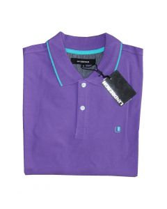 Lindbergh Poloshirt i Magic Purple Str. Medium
