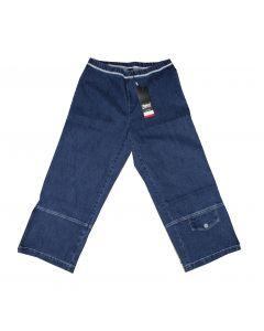 Zhenzi 3/4 bukser Blå str 54/56 XL