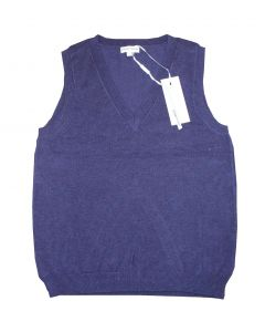 Peppercorn Strik Vest i Lilla Str. X-Large