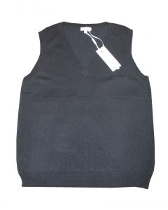 Peppercorn Strik Vest i Sort Str. Large