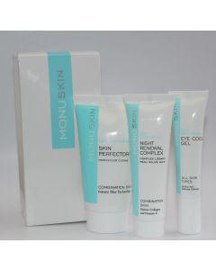 Monu Skin æske med 3 produkter