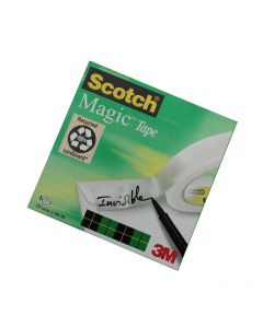 Scotch Magic tape 19mm x 66m (til borddispenser)