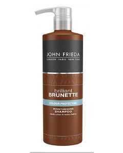 John frieda brilliant brunette colour protecting moisturising shampoo 500ml