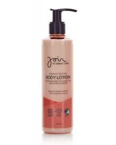 Join the organic future body lotion with organic cocoa butter and acerola berry 250ml