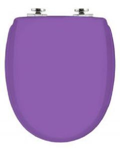 Kandre kan 3001 exclusive soft closing toilet seat quick release universal fit violet