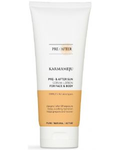 Karmameju pre- & after sun serum-lotion for face and body 200ml