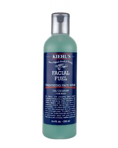 Kiehl's facial fuel energizing face wash gel cleanser for men 250ml