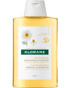 Pierre fabre klorane blond highlights shampoo with camomile 200ml