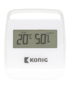 Konig weather station indoor thermometer/hygrometer KN-DTH10