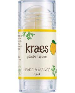 Kraes glade læber havre & mango 15ml