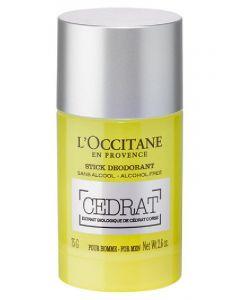 L'occitane en provence stick deodorant cedrat for men 75g