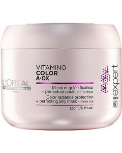 L'oréal expert vitamino color a-ox color radiance protection + perfecting jelly mask 200ml