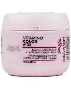 L'oréal expert vitamino color a-ox color radiance protection + perfecting jelly mask 75ml