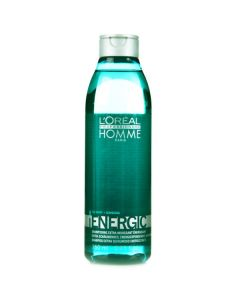 L'oréal homme paris energic high foam energising shampoo ice mint + ginseng 250ml