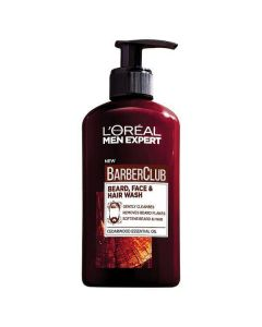 L'oréal men expert barber club beard face and hair wash 200ml