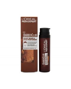 L'oréal men expert barberclub short beard & face moisturiser cedarwood essentil oil 50ml