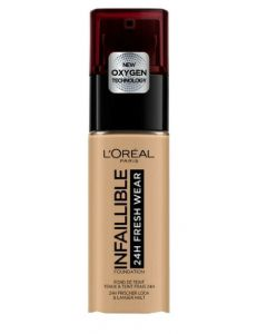 L'oréal paris infaillible 24H fresh wear foundation 120 vanilla 30ml