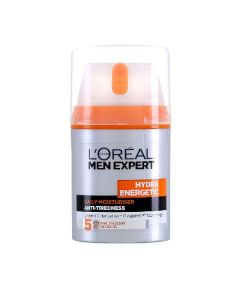 L'oréal paris men expert hydra energetic daily moisturiser anti-tiredness 5 actions on signs 50ml